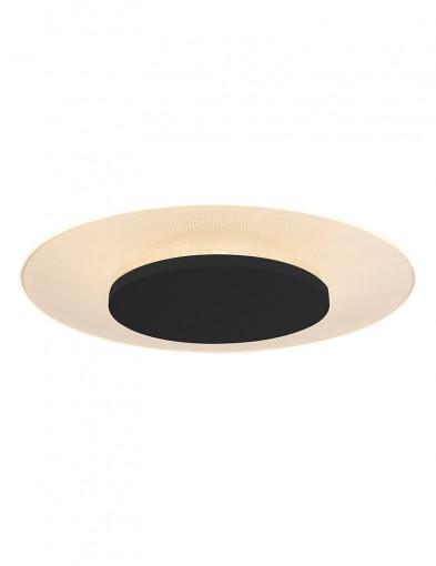 Plafón negro moderno Steinhauer Lido III-7799ZW