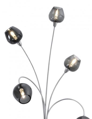 Aplique de pared LED negro  Steinhauer Tarda-9223ST