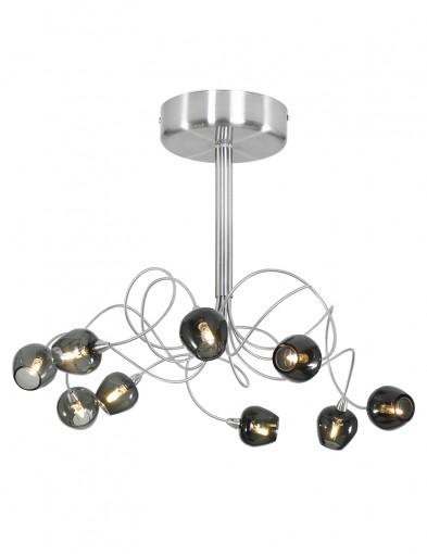 Plafón moderno negro Steinhauer Tarda LED-9226ST