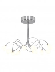 Plafón LED 10 luces Steinhauer Tarda-9227ST