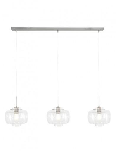 Lámpara de techo transparente Steinhauer Glass-9311ST