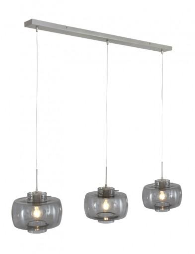 Lámpara de vidrio tres luces Steinhauer Glass-9312ST