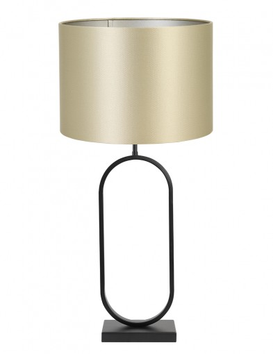 Lámpara con pantalla dorada Light & Living Jamiri-9333ZW