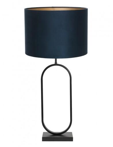 Lámpara de terciopelo azul Light & Living Jamiri-9335ZW