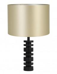 Lámpara de mesa dorada y negra Light & Living Desley-9339ZW