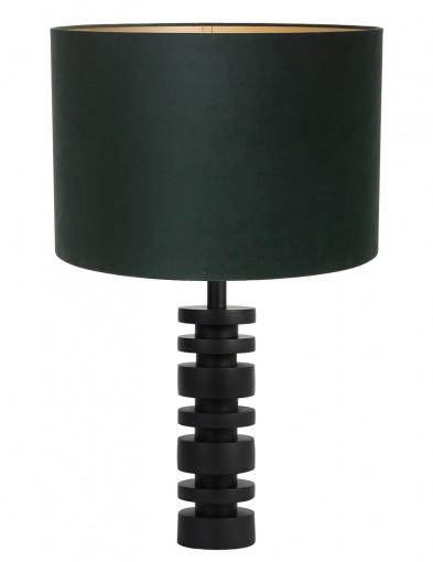 Lámpara de mesa verde Light & Living Desley-9340ZW