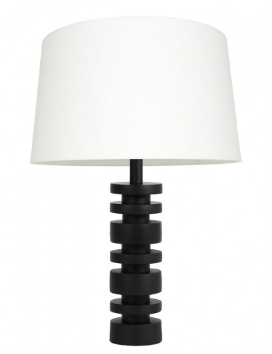Lámpara de pantalla blanca Light & Living Desley-9343ZW