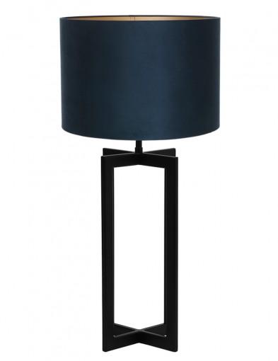 Lámpara de mesa terciopelo azul Light & Living Mace-9347ZW