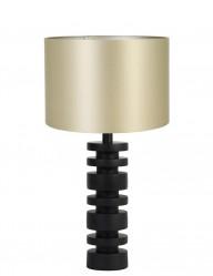 Lámpara de mesa dorada torneada Light & Living Desley-9361ZW