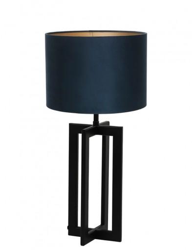 Lámpara de mesa azul de marcos Light & Living Mace-9369ZW