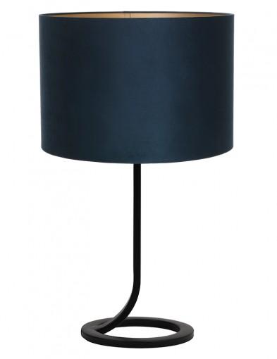 Lámpara de mesa circular azul Light & Living Mavey-9375ZW