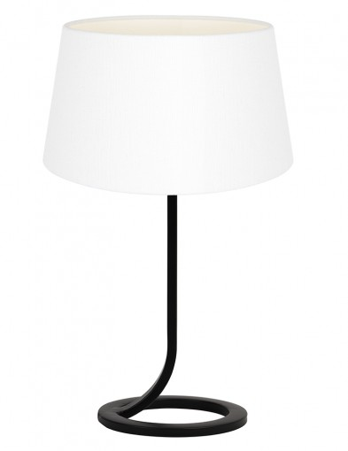Lámpara blanca de base circular Light & Living Mavey-9377ZW