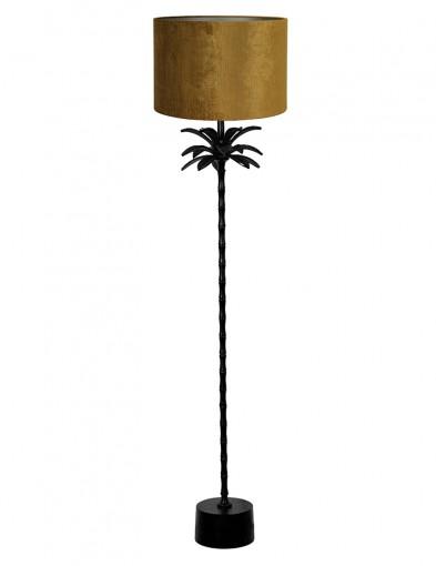 Lámpara con pie de palmera dorada Light & Living Armata-9382ZW