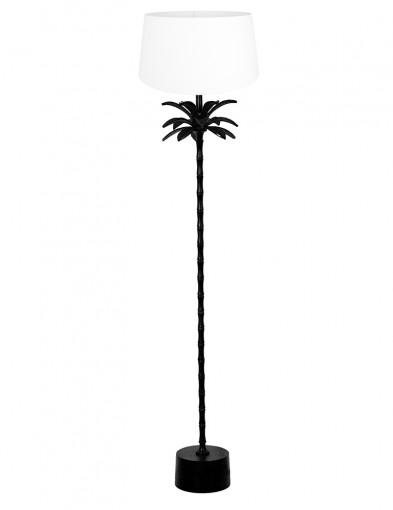 Lámpara con pie de palmera blanca Light & Living Armata-9384ZW
