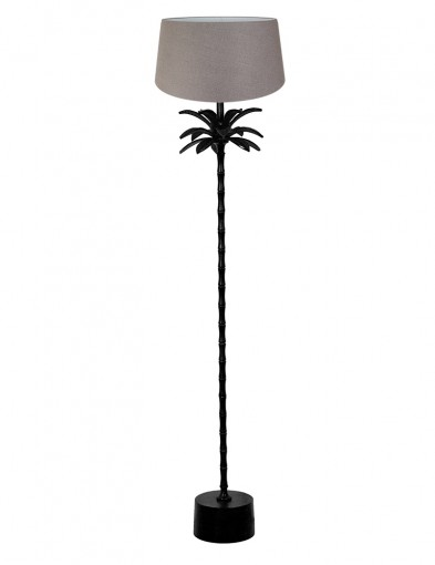Lámpara con pie de palmera marrón Light & Living Armata-9385ZW