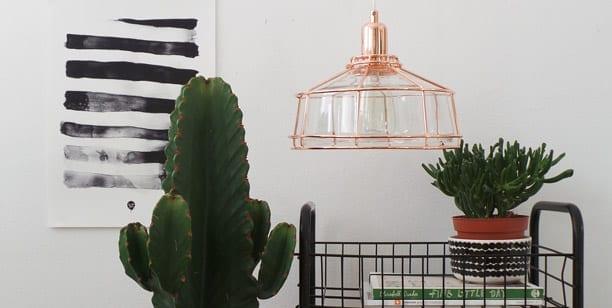 lampara-de-cobre-techo