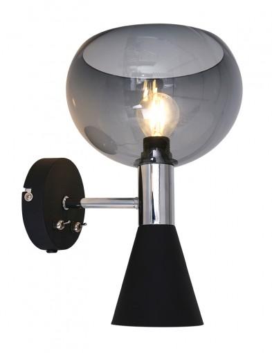 Aplique moderno negro  Anne Lighting Fastlåst