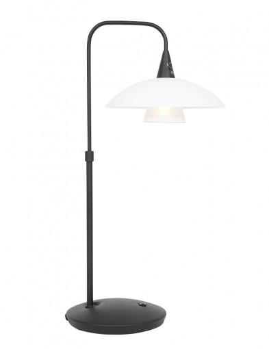 Lámpara de mesa con pantalla de vidrio Steinhauer Tallerken