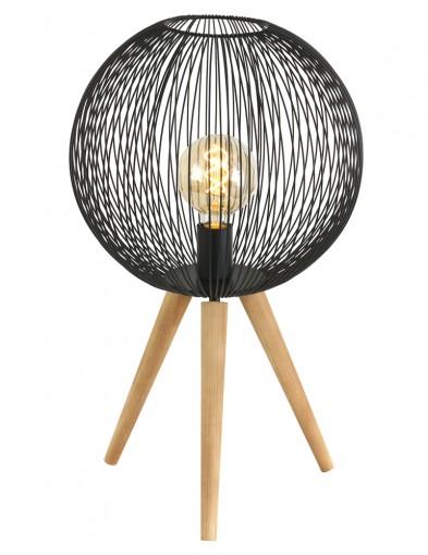 Lámpara de madera esférica Anne Lighting Spoetnik