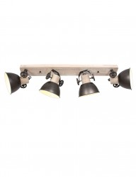 Foco industrial cuatro luces Mexlite Gearwood