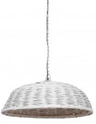 Lámpara de techo de mimbre Light & Living Jaelynn