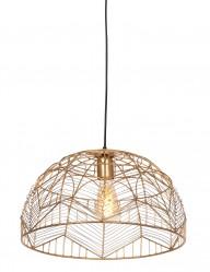 Lámpara dorada de alambre en zigzag Light&Living Kalibo