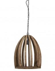 Lámpara de techo en madera Light & Living Haranka