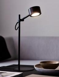 Lámpara de sobremesa negra Nordlux Clyde
