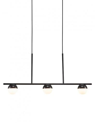 Lámpara de techo negra tres luces Nordlux Contina