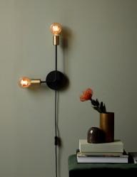 Aplique moderno dos bombillas Nordlux Josefine