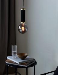 Lámpara de techo negra elegante Nordlux Galloway