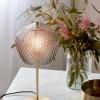 Lámpara dorada de mesa vidrio Nordlux Orbiform