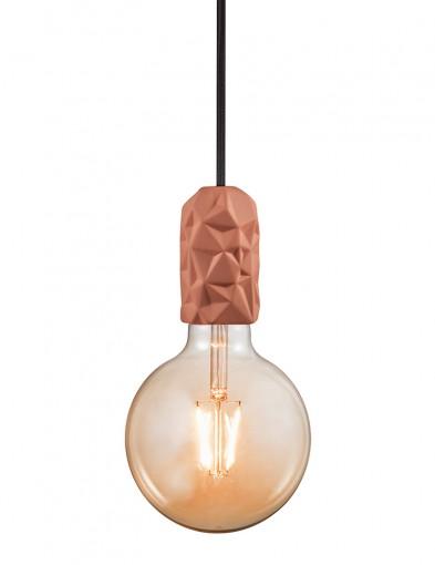 Lámpara colgante geométrica terracota Nordlux Hang
