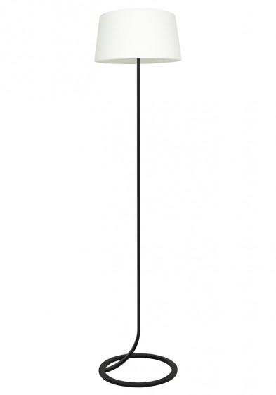Lámpara de pie blanca Light & Living Mavey