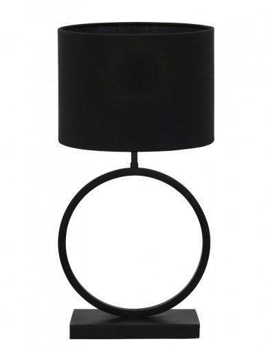 Lámpara de mesa con base redonda Light & Living Liva