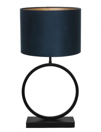 Lámpara azul con base circular Light & Living Liva
