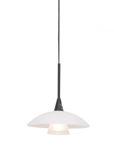 Lámpara colgante de vidrio Steinhauer Tallerken-2655ZW