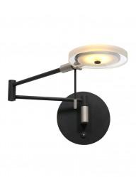 Aplique LED negro Steinhauer Turound-2733ZW