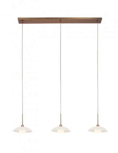 Lámpara bronce de techo Steinhauer Sovereign Classic LED-2739BR