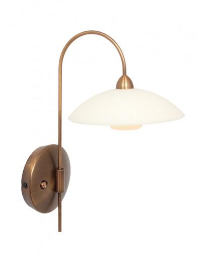 Aplique de pared LED en bronce Steinhauer Classic-2741BR