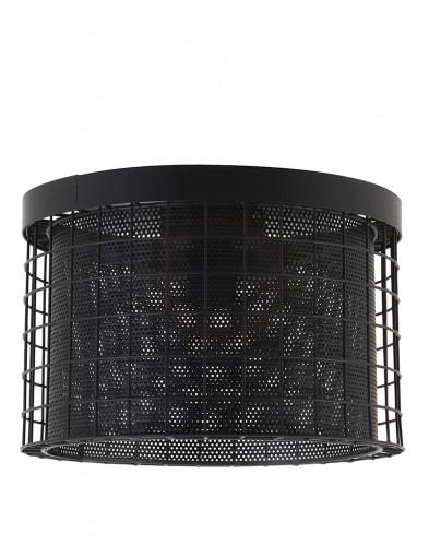 Plafón negro de alambre Light & Living Digo-2754ZW