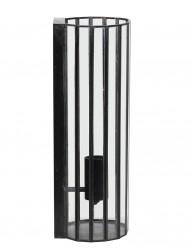 Aplique negro de vidrio Light & Living Stroby-2822ZW