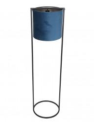 Lámpara de pie moderna azul Light & Living Santos-2829BL