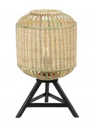 Lámpara de mesa rústica Light & Living Alifia-2895BE