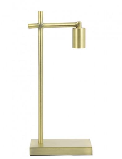 Lámpara de mesa minimalista dorada Light & Living Corby-2912GO