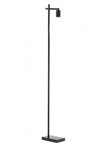 Lámpara de pie negra moderna Light & Living Corby-2915ZW