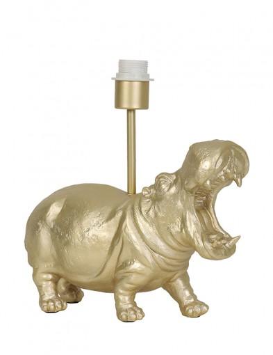 Hipopótamo dorado Light & Living Hippo-2967GO