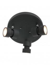 Plafón redondo LED de tres luces Steinhauer Natasja-7905ZW
