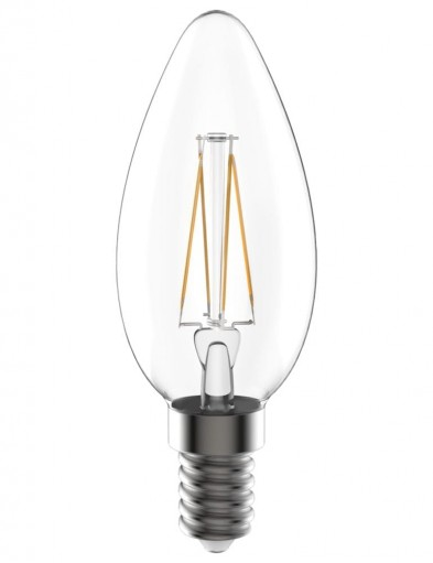 Bombilla vela LED regulable E14 5W-I14947S
