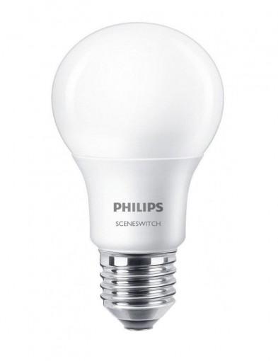 Bombilla Philips SceneSwitch 3 modos E27 8W-I14986S